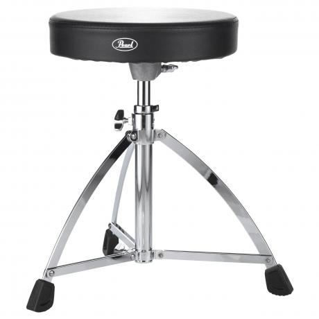 Pearl Short Base Round Seat Drum Throne