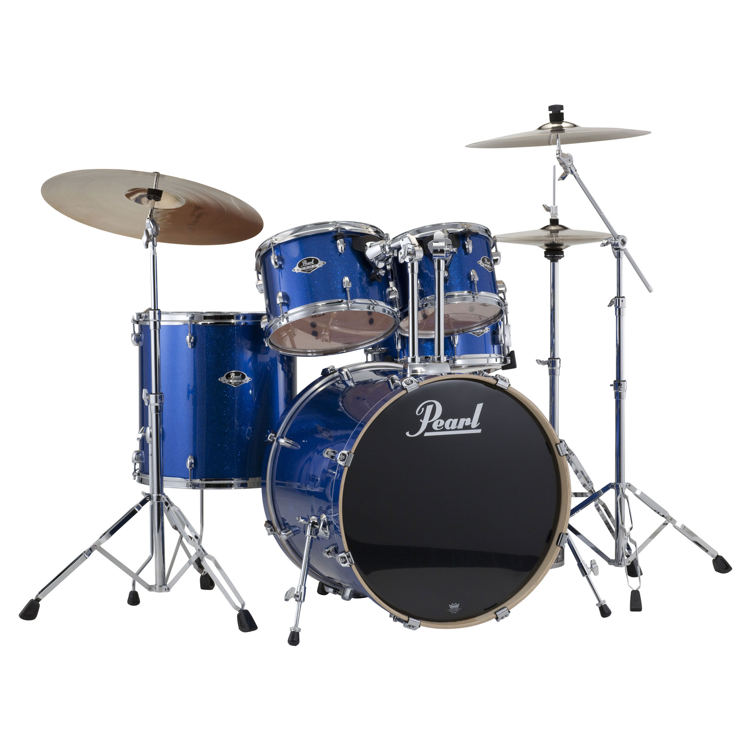 "Pearl EXX Export 5-Piece Drum Set with Hardware (20"" Bass, 10/12/14"" Toms, 14"" Snare)"