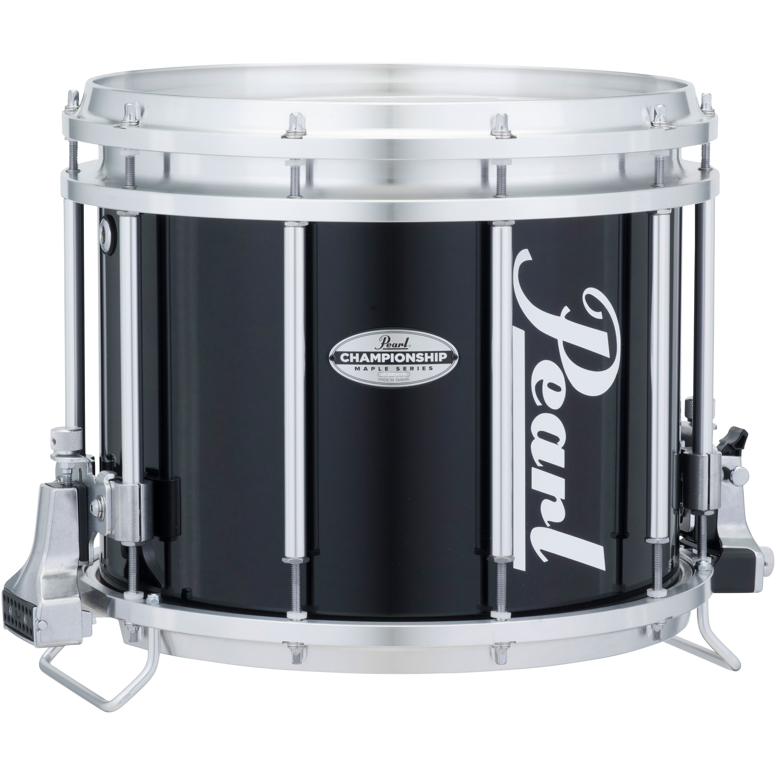 "Pearl 13"" (Diameter) x 11"" (Deep) FFXM Championship Maple Marching Snare Drum in Wrap Finish"