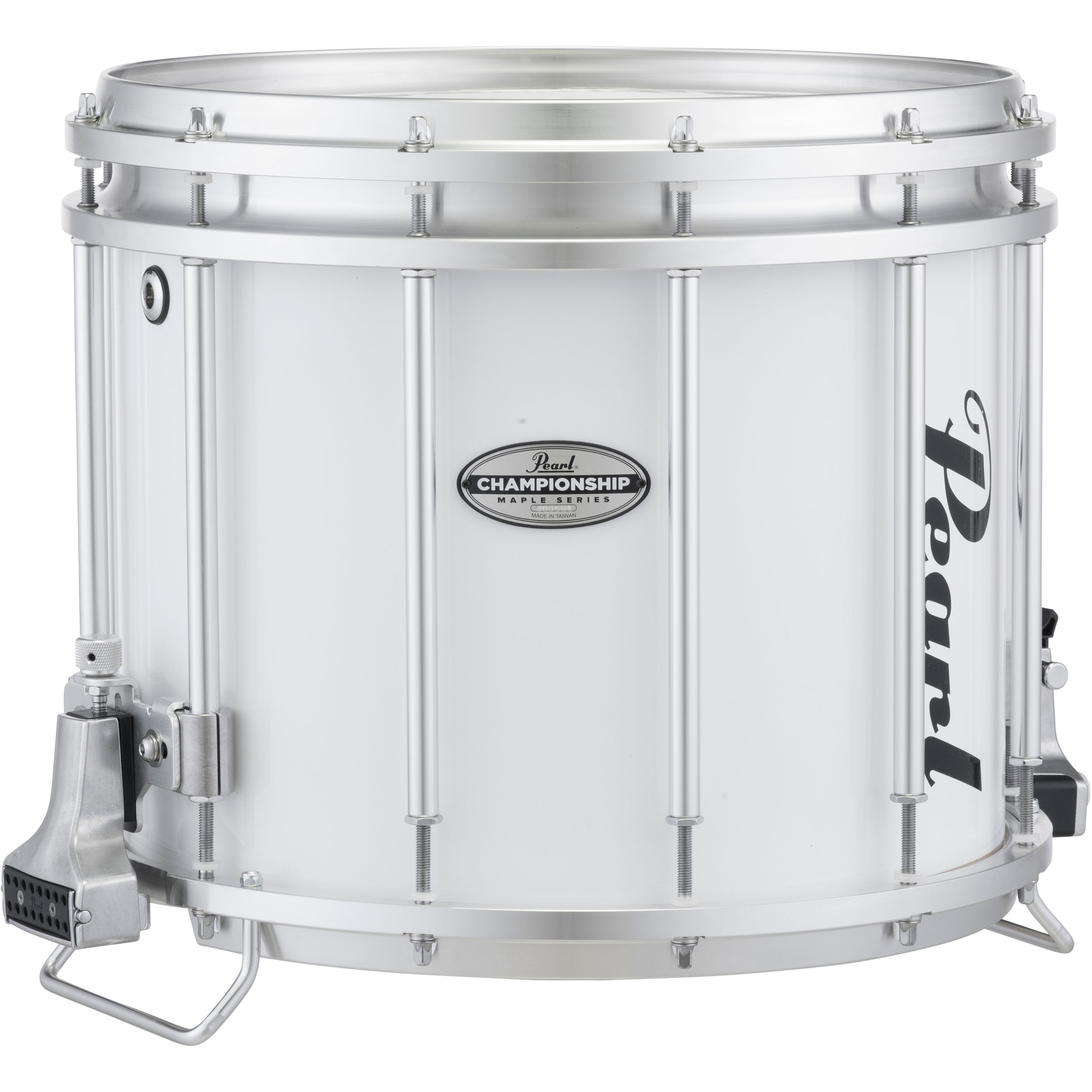 "Pearl 14"" (Diameter) x 12"" (Deep) FFXM Championship Maple Marching Snare Drum in Wrap Finish"