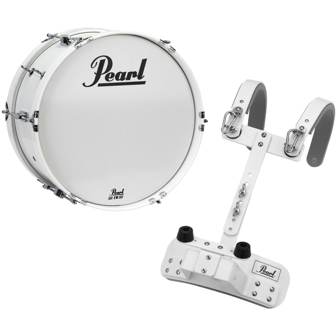 "Pearl 16"" Junior Marching Bass Drum with Carrier"