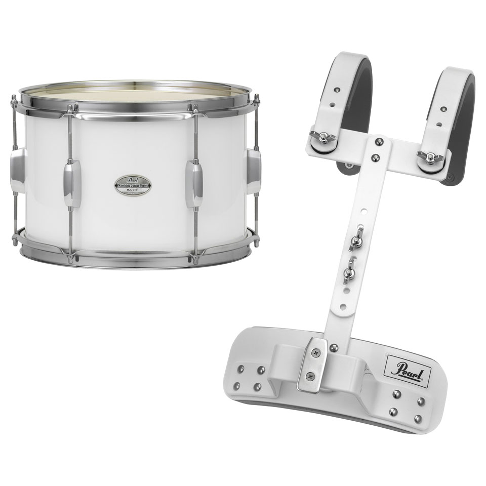 """Pearl 12"""" x 8"""" Junior Marching Tenor Drum with Carrier"""