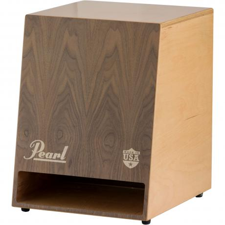 Pearl Sonic Boom Cajon with Walnut Faceplate