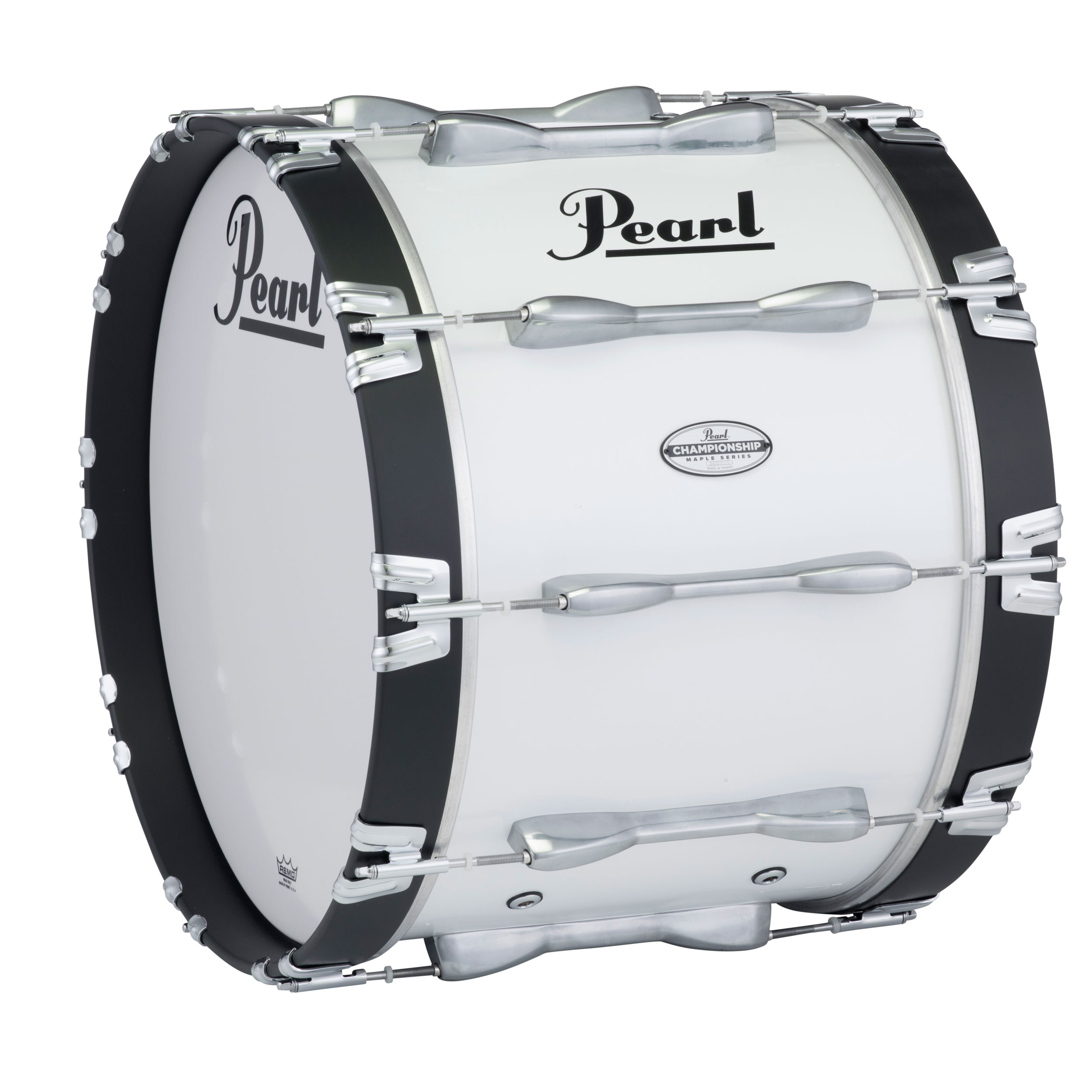 "Pearl 16"" PBDM Championship Maple Marching Bass Drum in Wrap Finish"