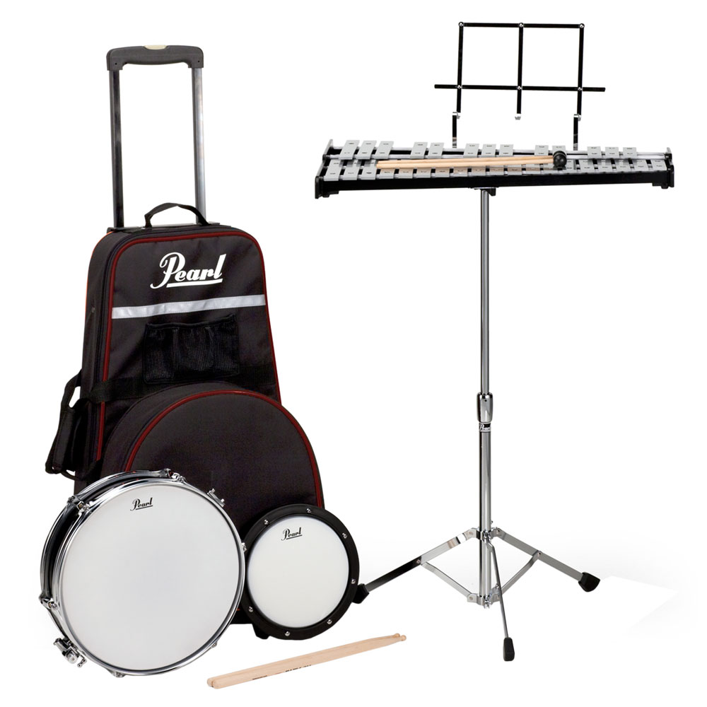 Pearl Beginner Percussion Learning Center with Pull Along Cart