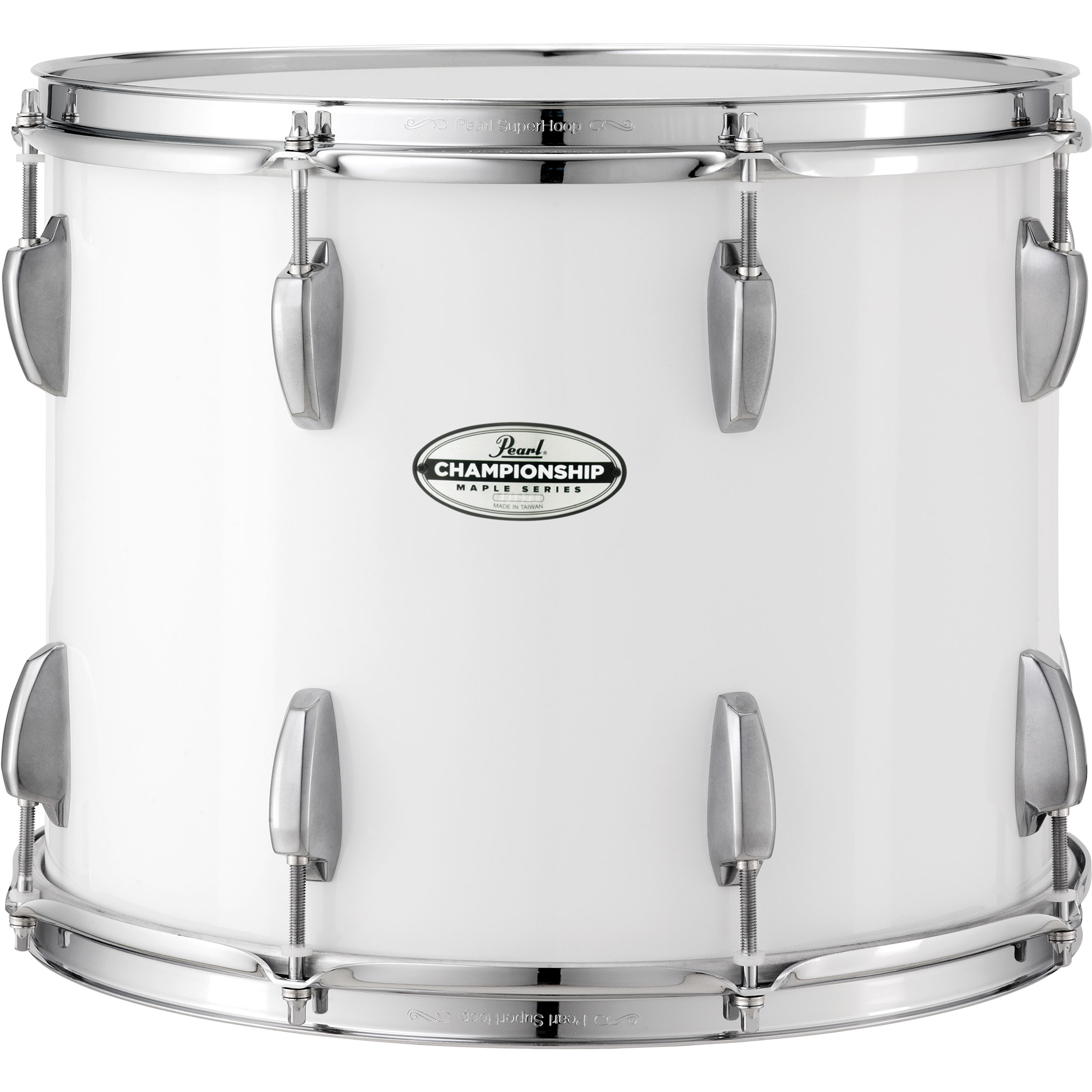 "Pearl 16"" x 14"" PTDM Championship Maple Traditional Marching Tenor Drum with Aluminum Hardware"