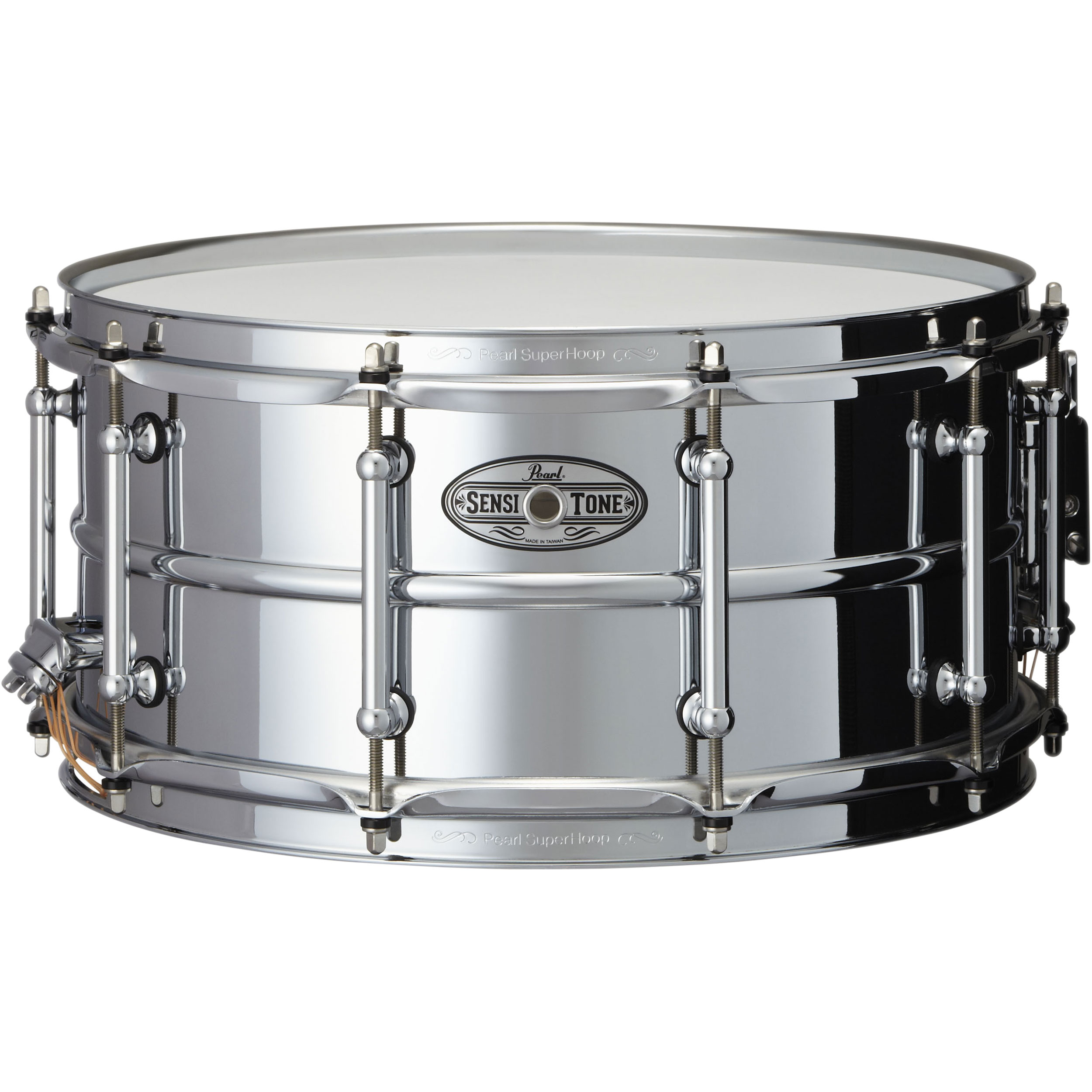 "Pearl 14"" x 6.5"" SensiTone Beaded Steel Snare Drum"