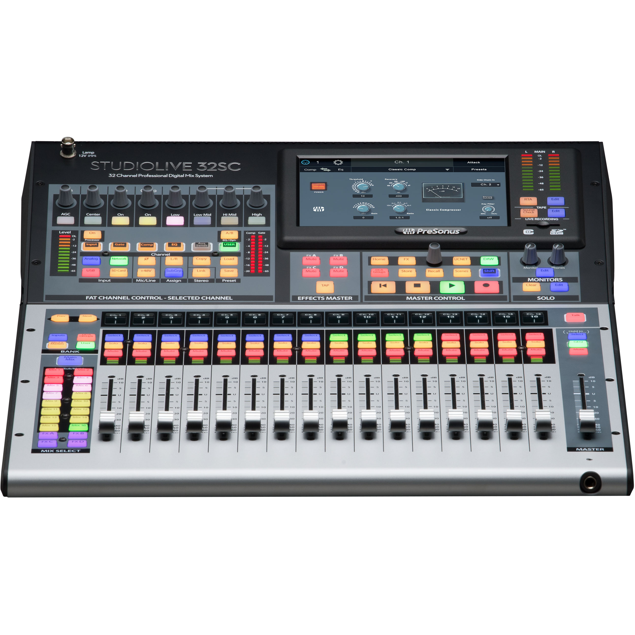 PreSonus StudioLive 32-Channel Compact Rack-Mountable Digital Mixer