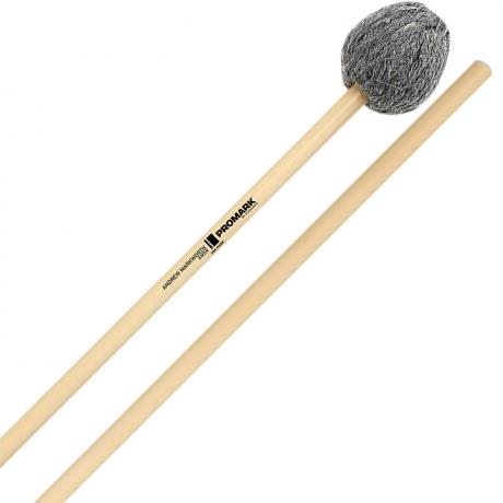 Promark Andrew Markworth Signature Soft Vibraphone Mallets with Rattan Shafts