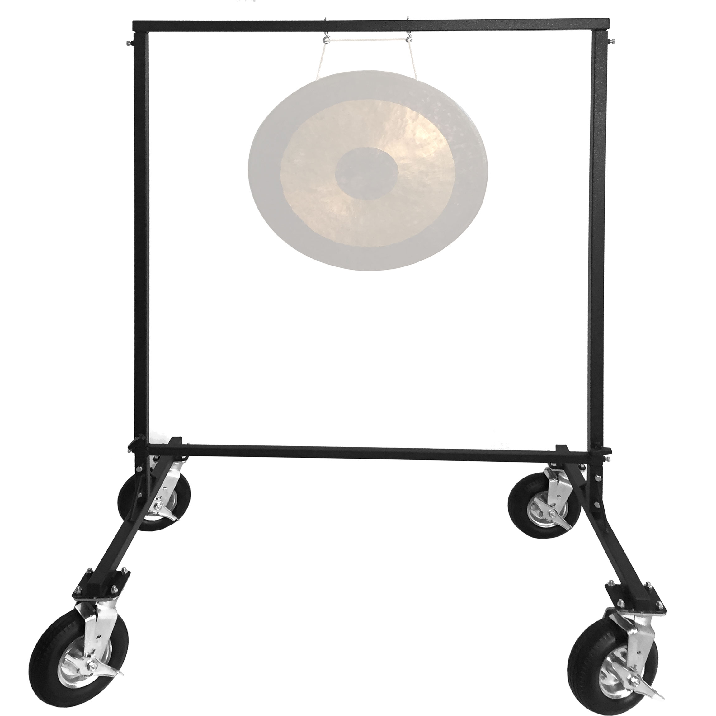 Pyle All-Terrain Gong Stand