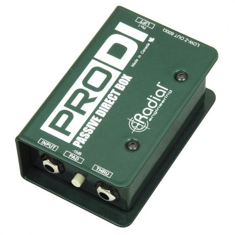 Radial ProD1 Mono Passive Direct Box
