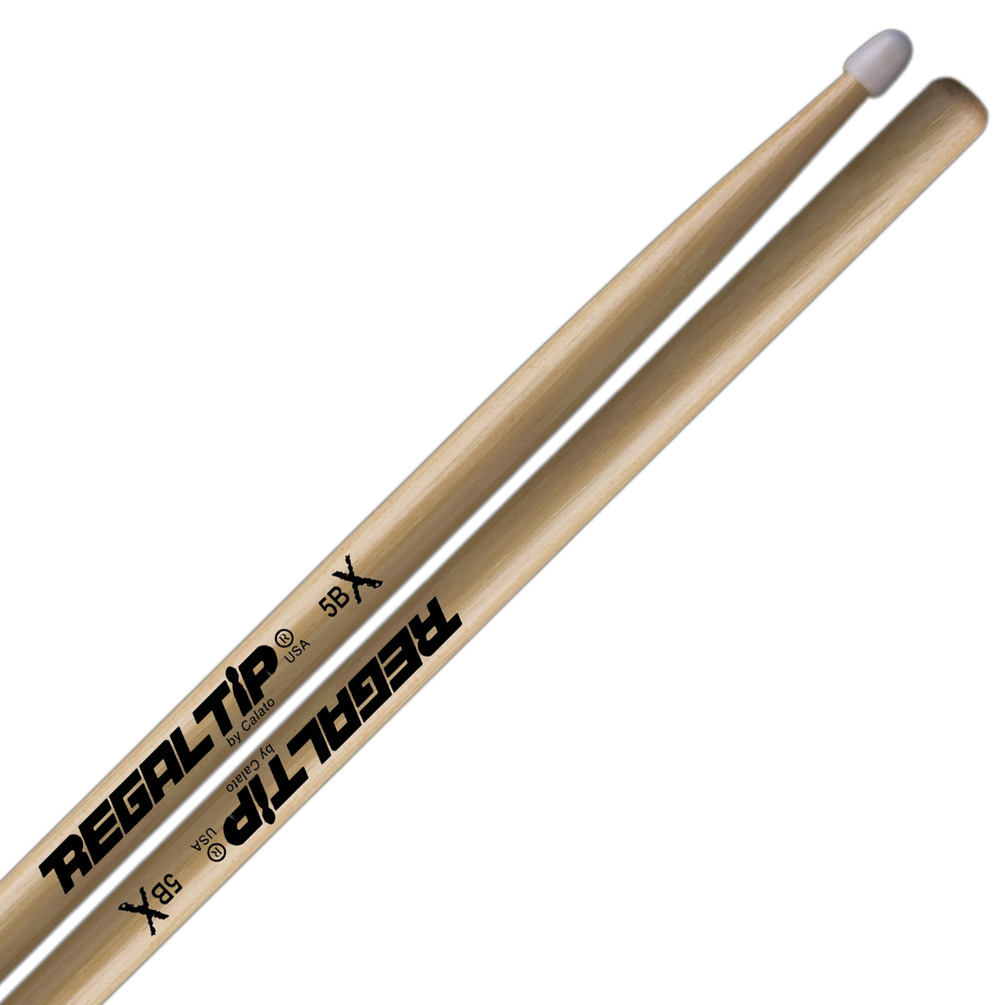 Regal Tip X Series 5BX Nylon Tip Drumsticks
