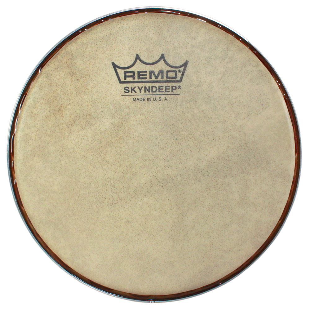 "Remo 7.15"" R-Series Skyndeep Bongo Drum Head with Calfskin Graphic"