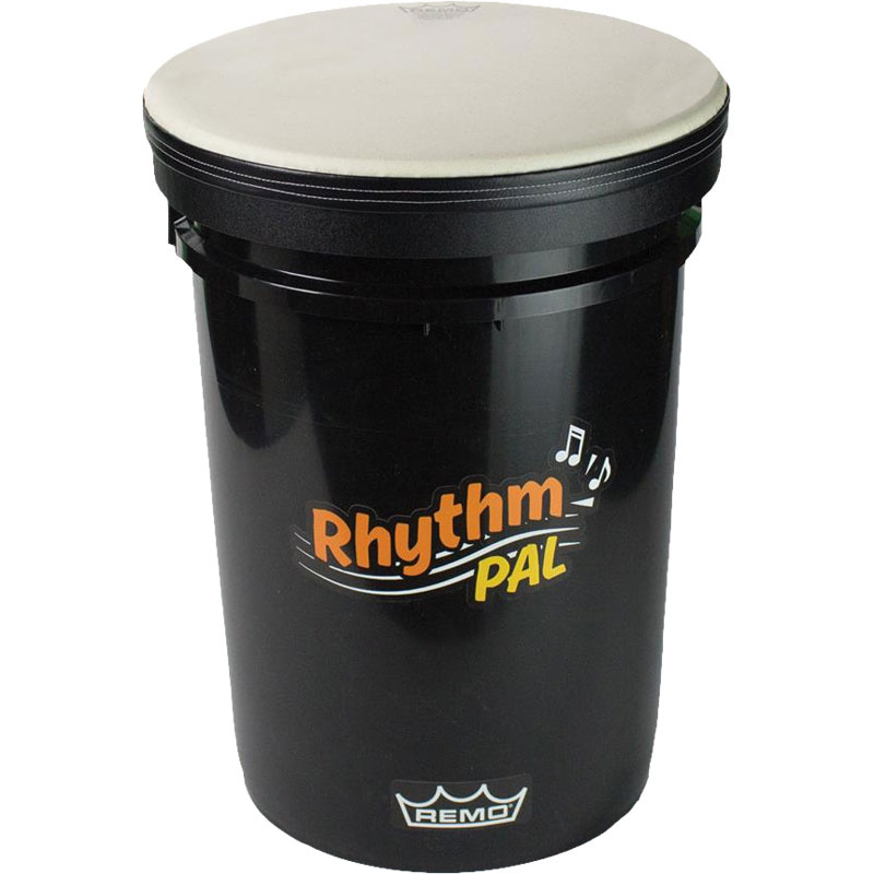 how to make a drum set out of buckets