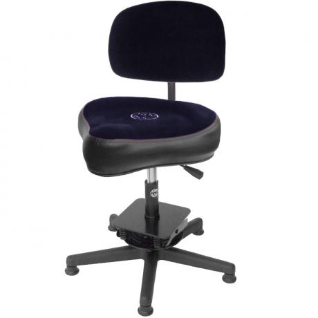 Roc-n-Soc Component Motion Gas Lift Drum Throne with Hugger Seat/Back Rest