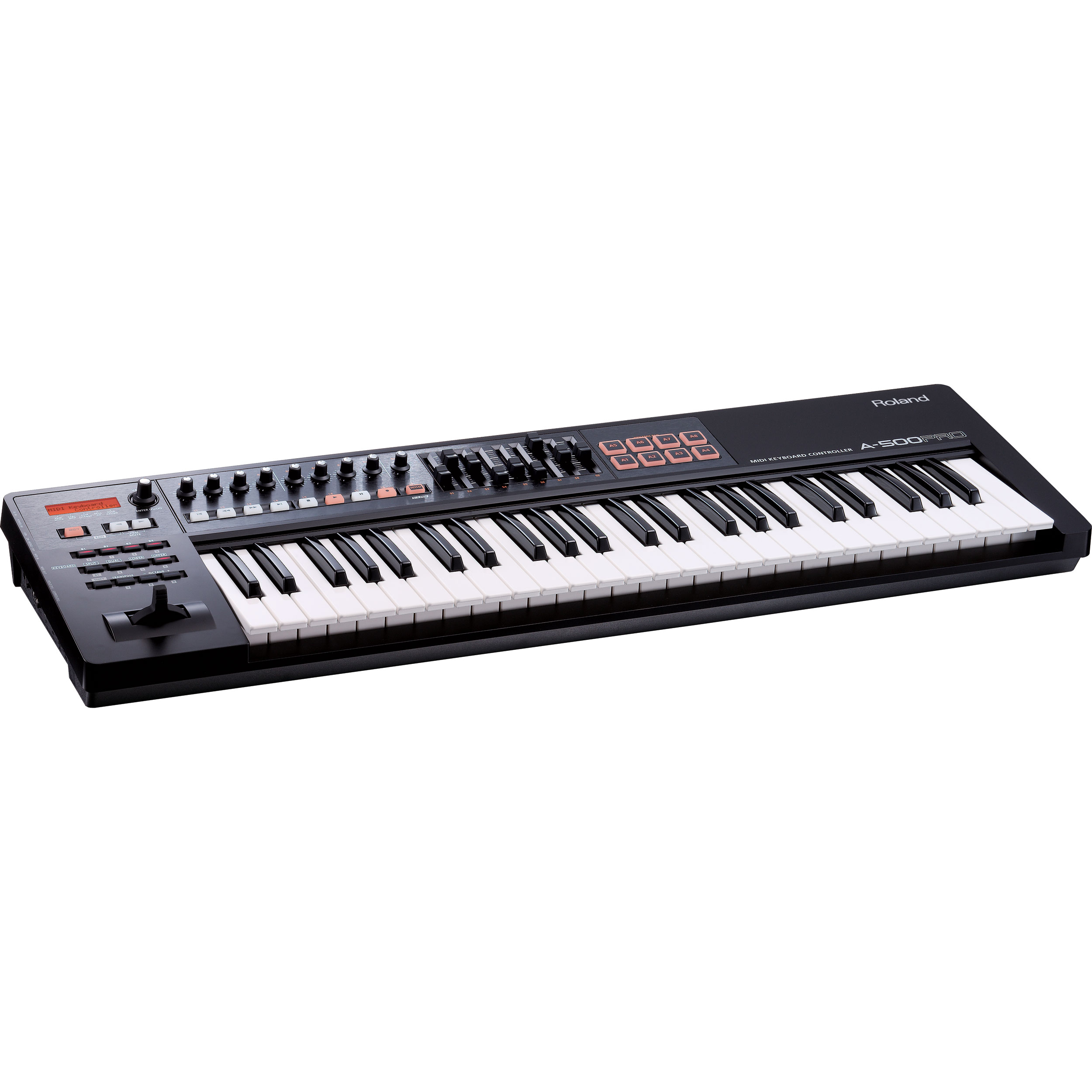 roland a pro series 49 key pro midi keyboard controller a 500pro r. Black Bedroom Furniture Sets. Home Design Ideas