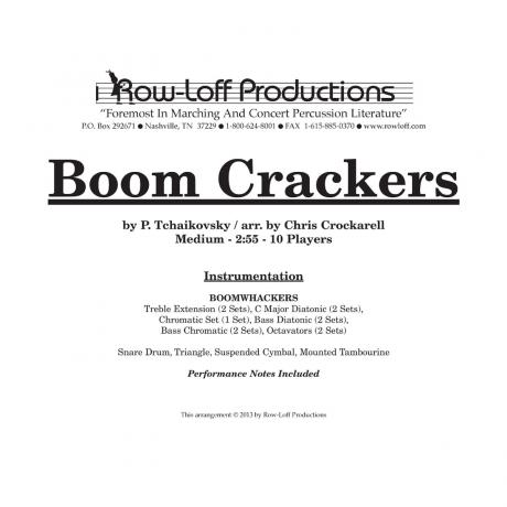 Boom Crackers (Package) by Chris Crockarell