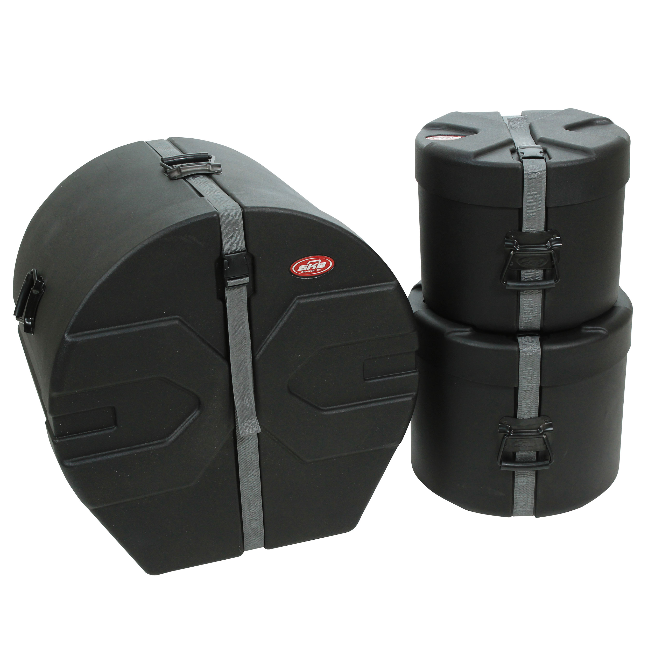 "SKB Roto-X Drum Set Hard Case Package #1 (12""/14""/22"")"