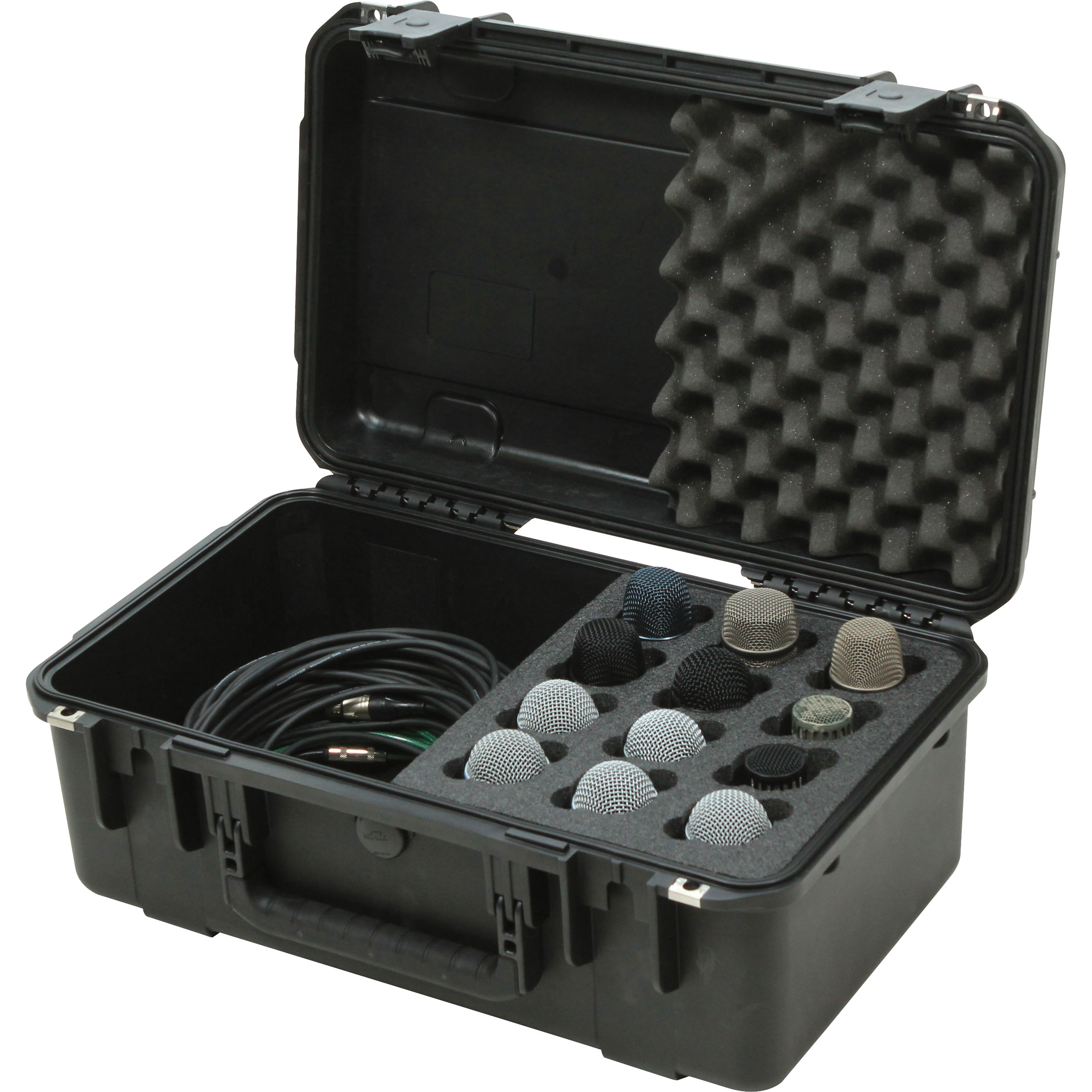 SKB iSeries Waterproof 12-Microphone Case
