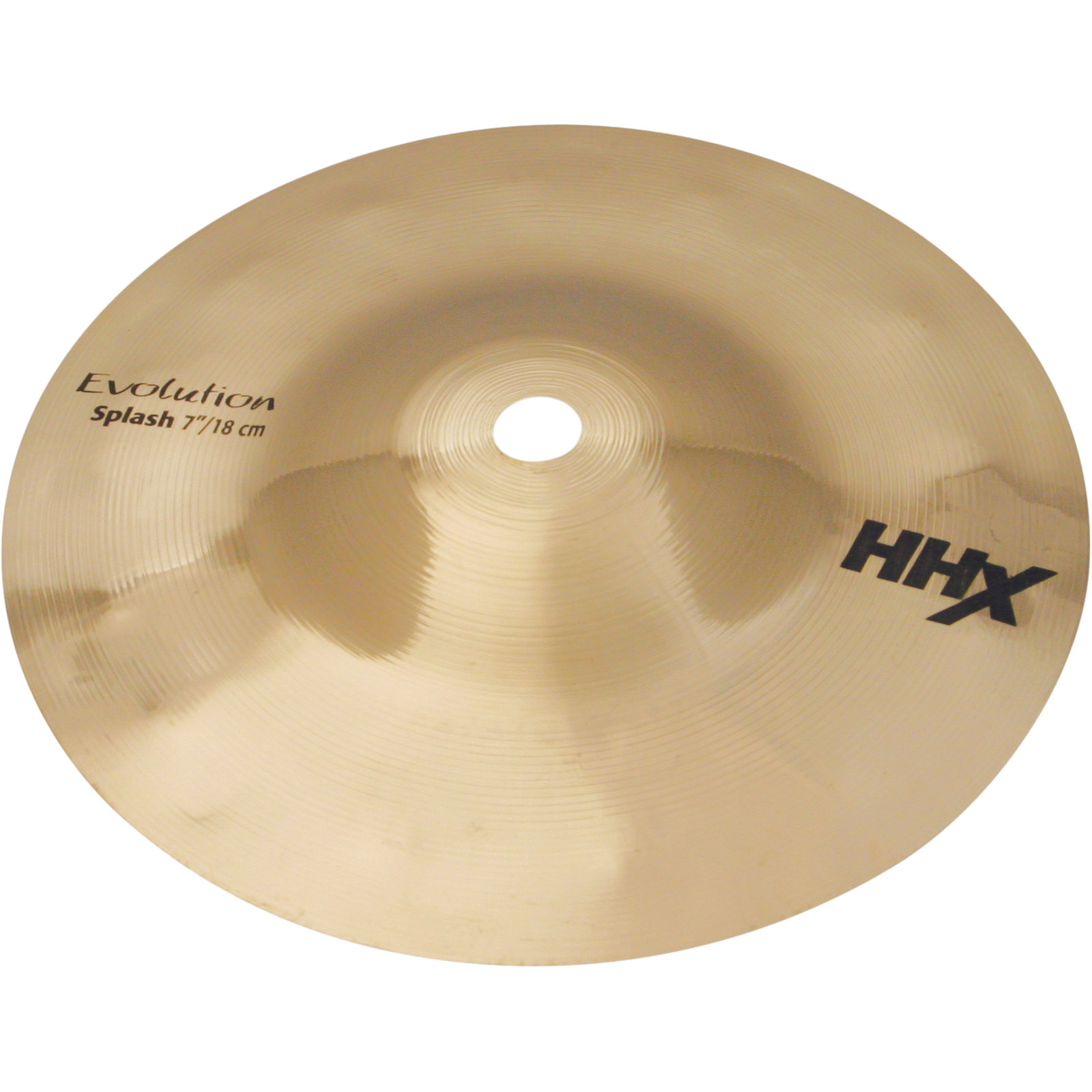 "Sabian 7"" HHX Evolution Splash Cymbal with Brilliant Finish"