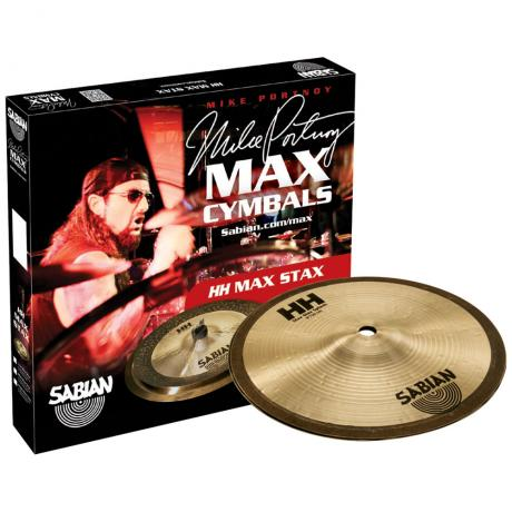 Sabian HH High Max Stax Pack 2-Piece Cymbal Box Set (Splash, China)