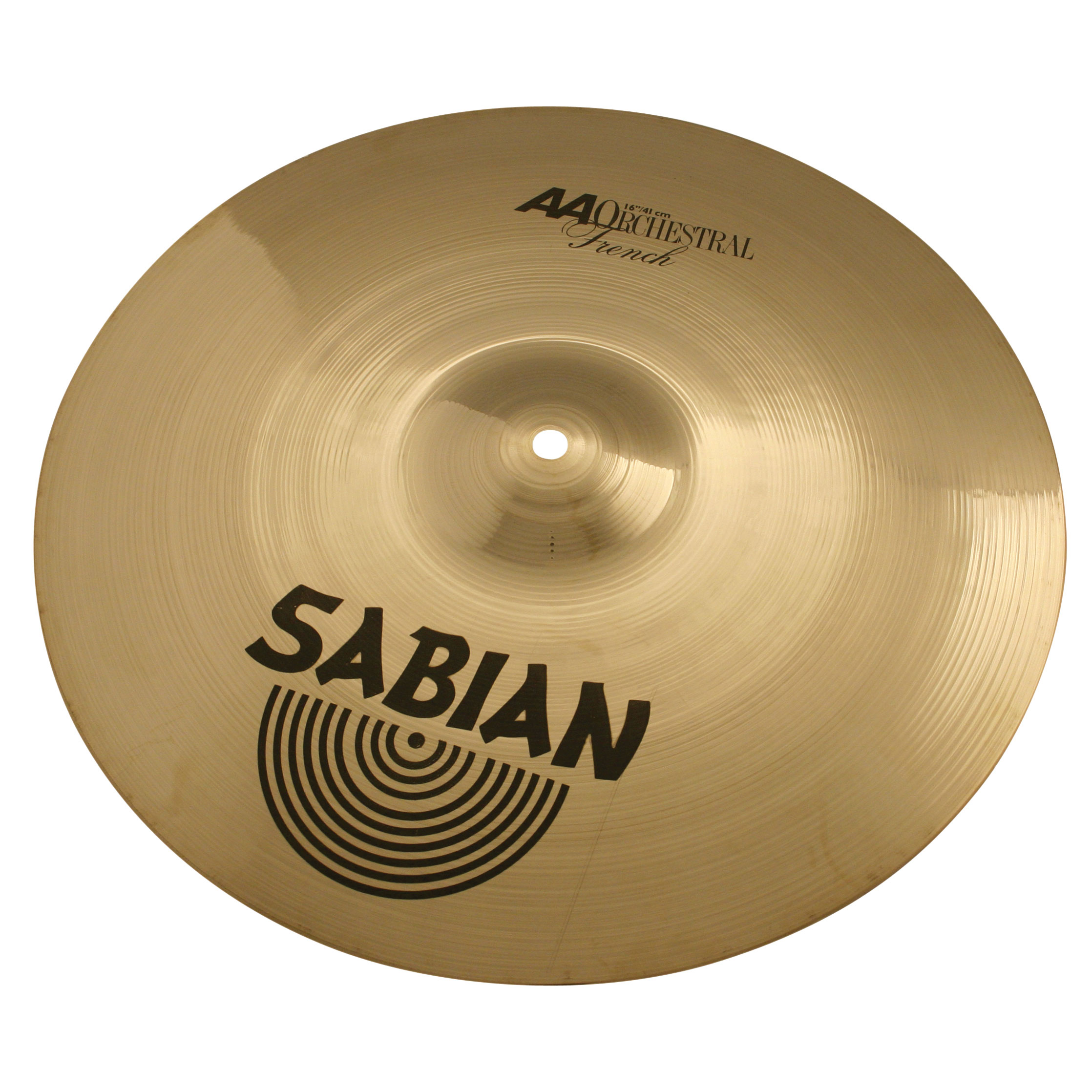 "Sabian 16"" AA French Crash Cymbal Pair"