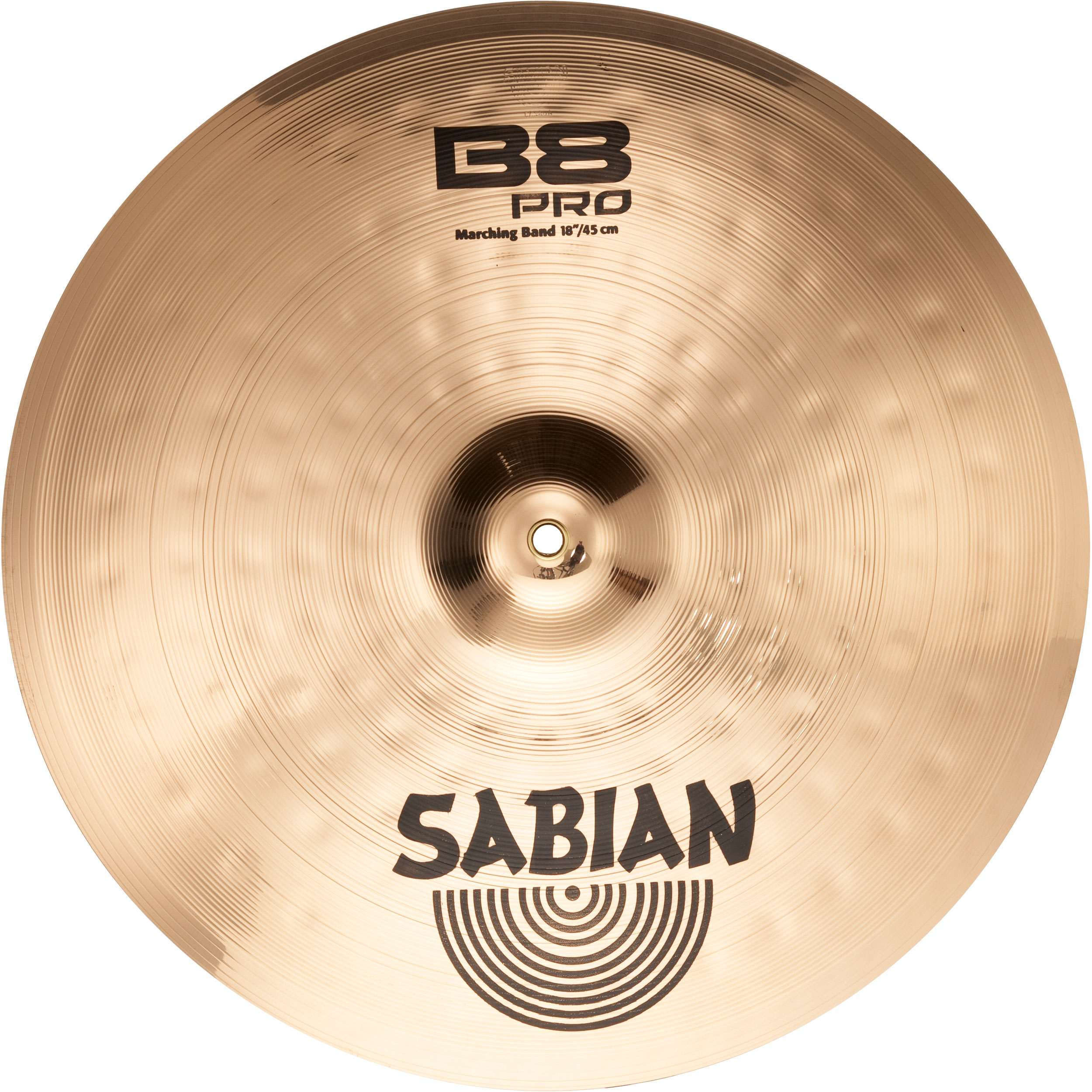 sabian 18 b8 pro marching band hand cymbal pair 31822b. Black Bedroom Furniture Sets. Home Design Ideas