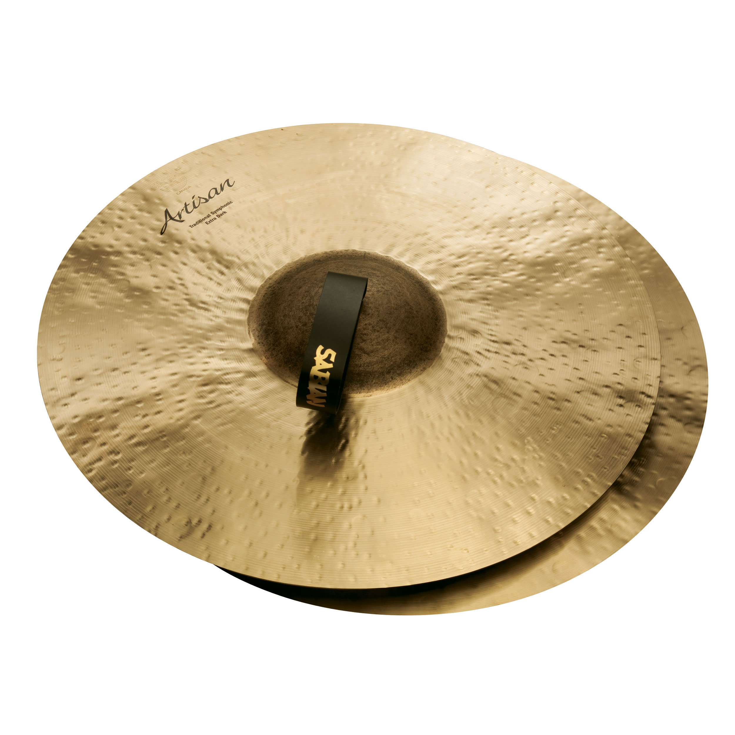 "Sabian 18"" Artisan Vault Symphonic Medium-Heavy Extra-Dark Crash Cymbal Pair"
