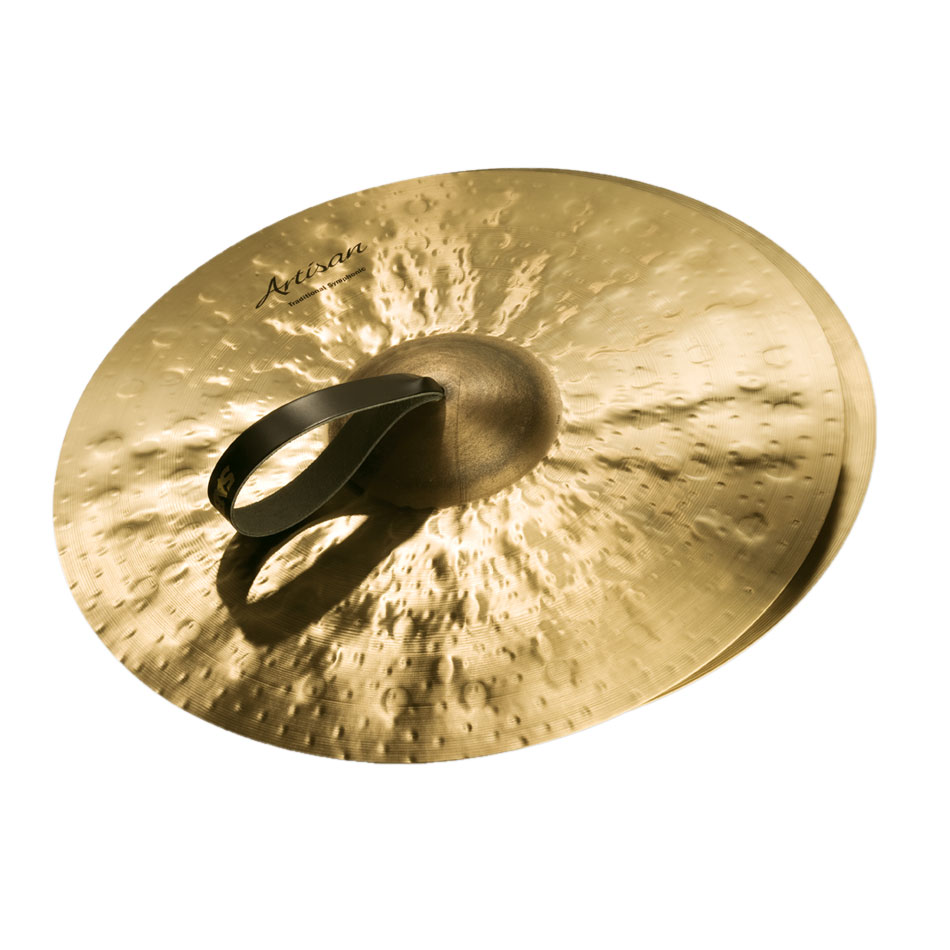 "Sabian 20"" Artisan Traditional Symphonic Medium-Light Crash Cymbal Pair"