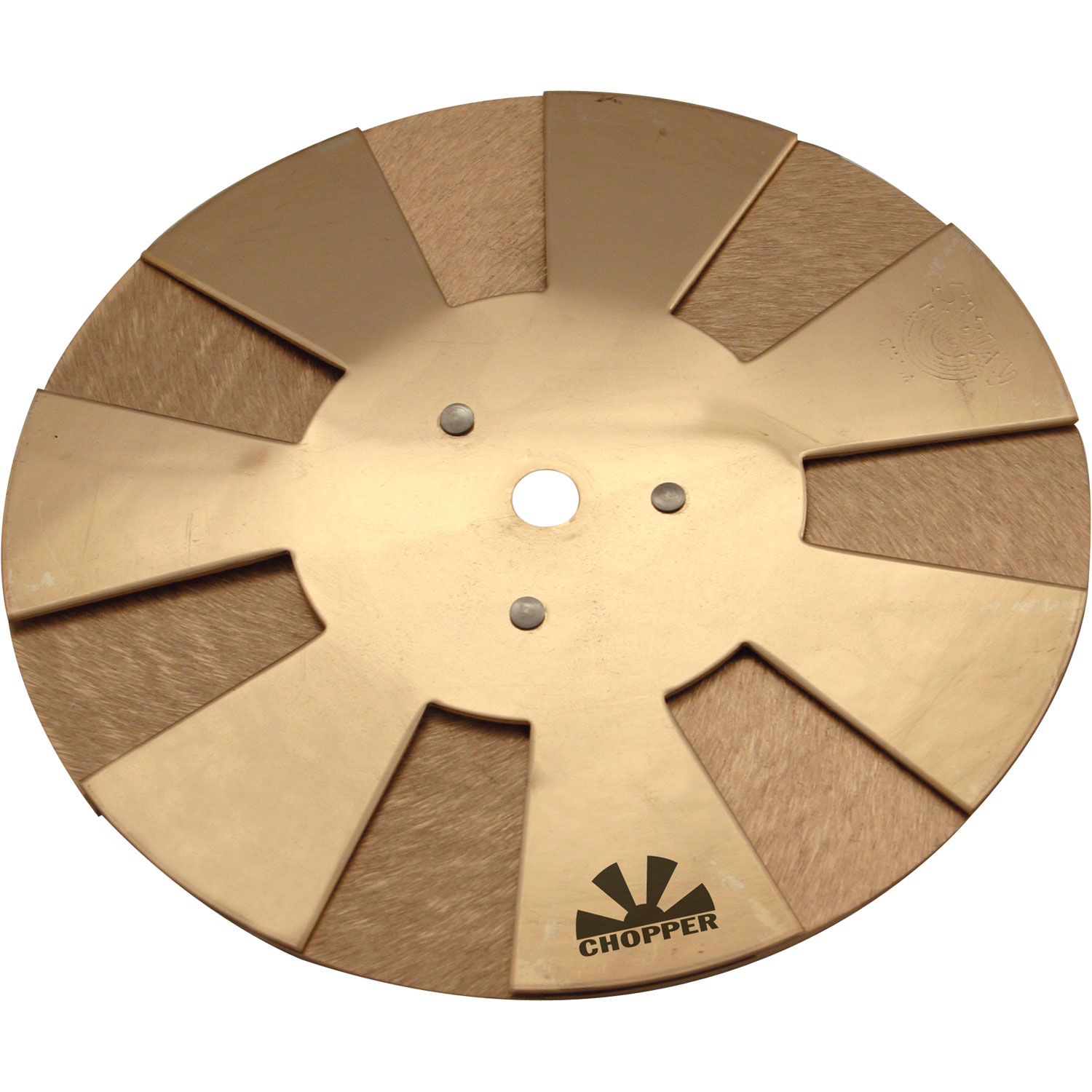 "Sabian 12"" Chopper with Natural Finish"