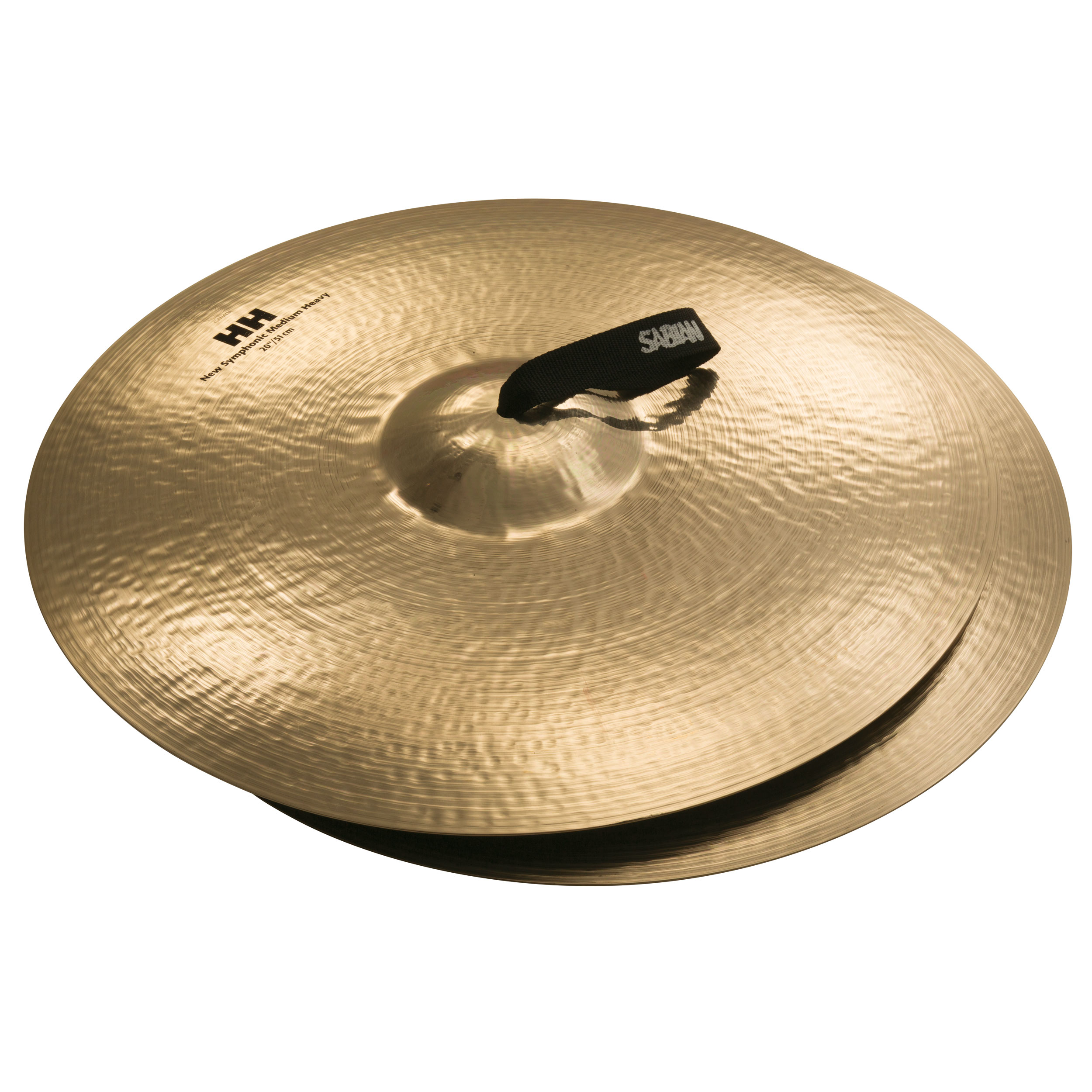 "Sabian 20"" HH Symphonic Medium-Heavy Crash Cymbal Pair"