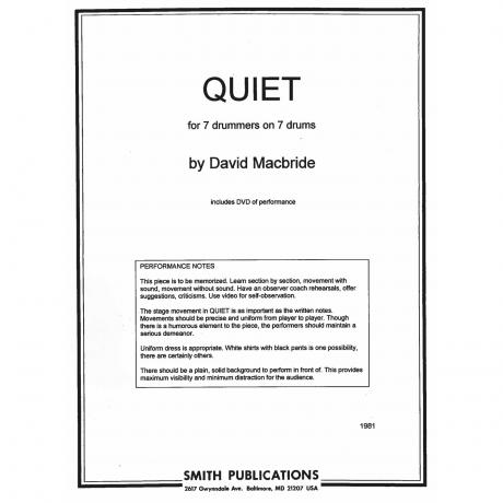 Quiet by David Macbride