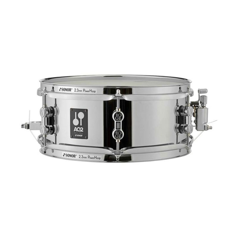 "Sonor 12"" x 5"" AQ2 Steel Snare Drum"