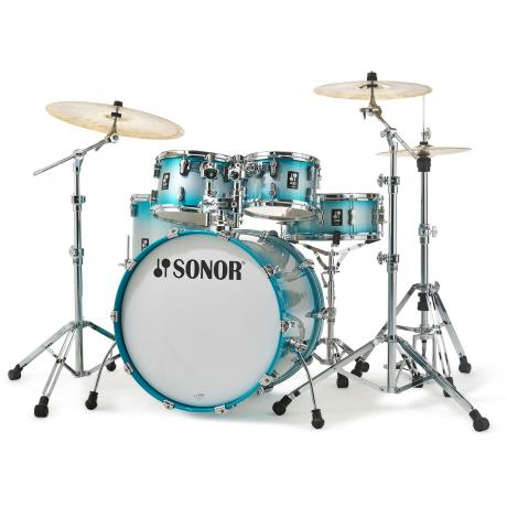 sonor aq2 stage 5 piece drum set shell pack 22 bass 10 12 16 toms 14 snare aq2 stage sp. Black Bedroom Furniture Sets. Home Design Ideas