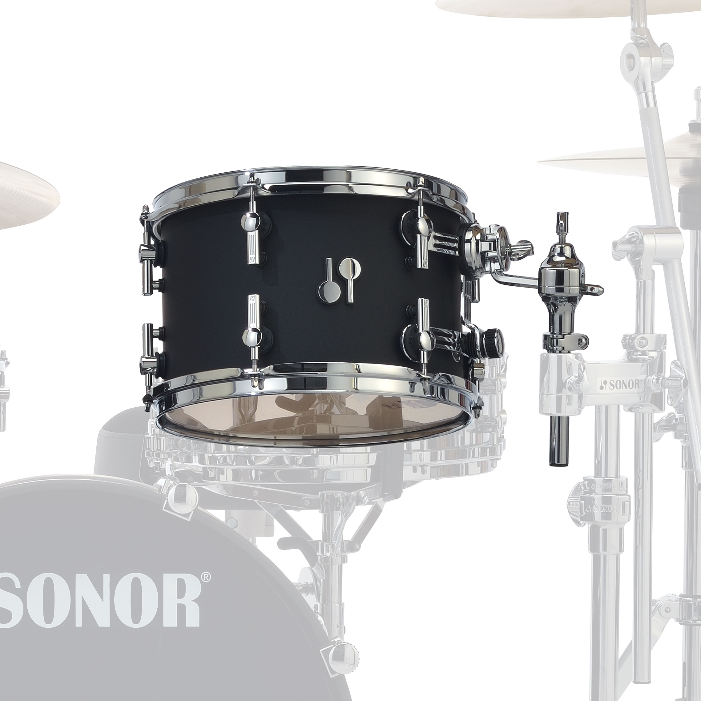 "Sonor 10"" (Diameter) x 7"" (Deep) SQ2 Vintage Maple Tom"