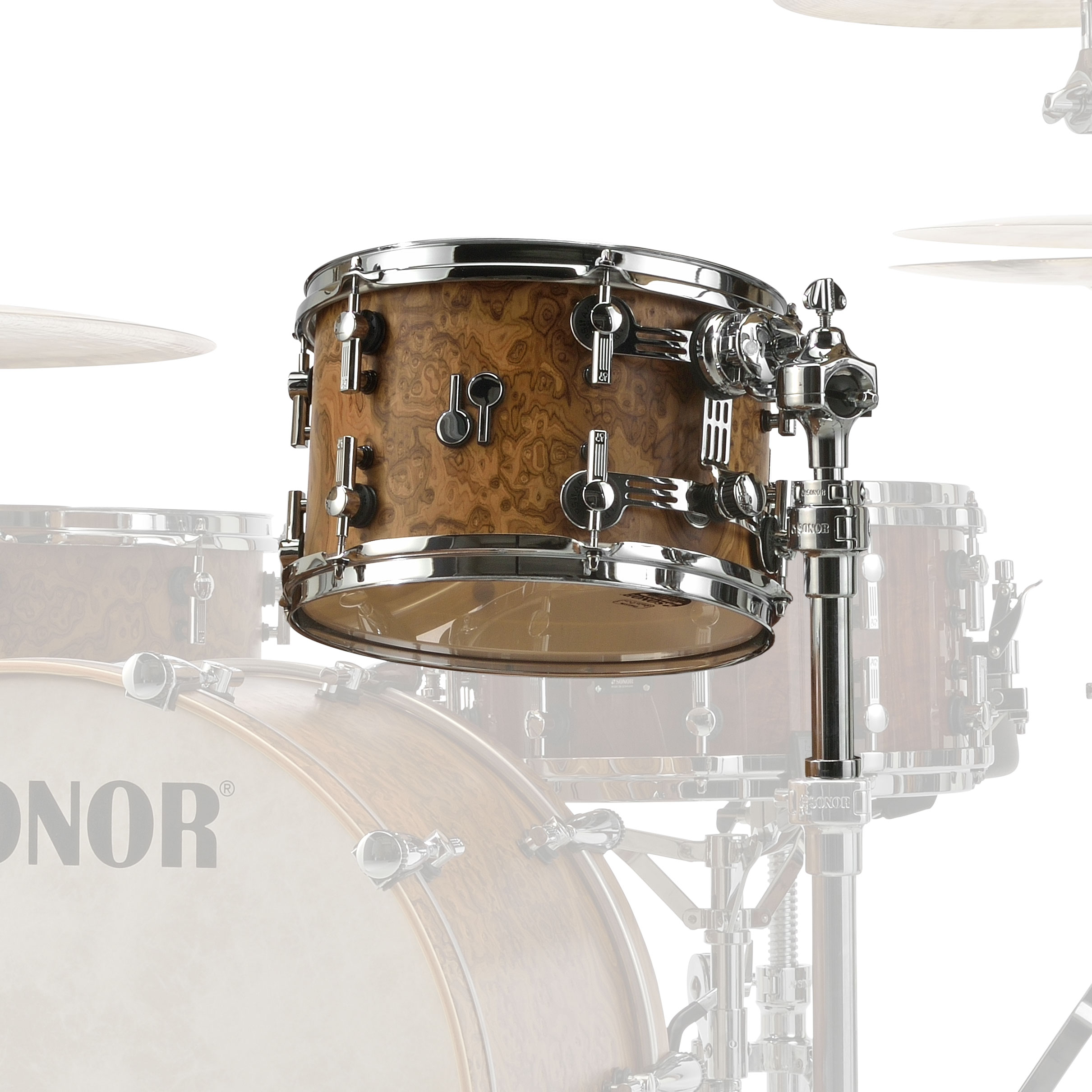 "Sonor 13"" (Diameter) x 9"" (Deep) SQ2 Vintage Maple Tom"
