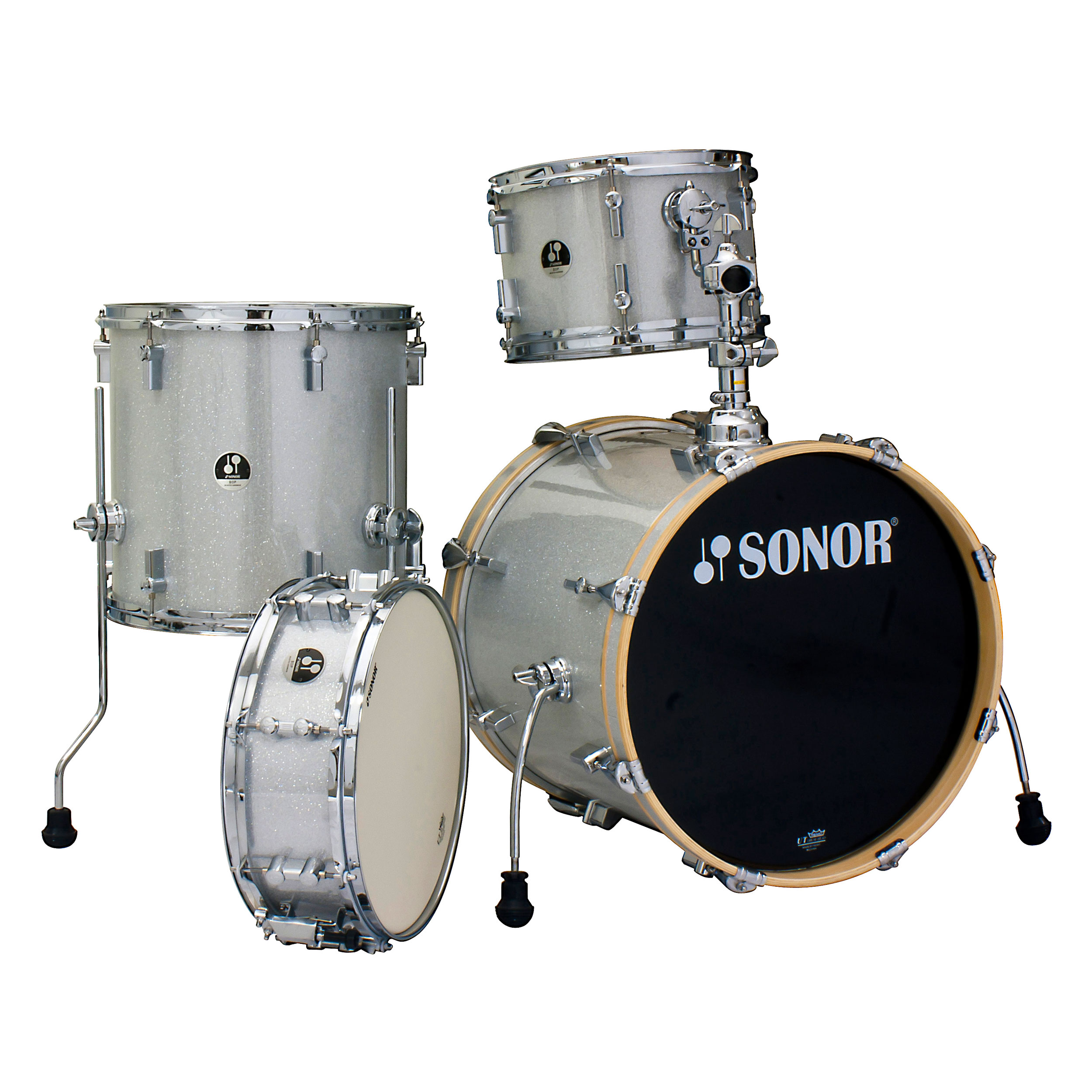 "Sonor Bop 4-Piece Drum Set Shell Pack (18"" Bass, 12/14"" Toms, 14"" Snare)"