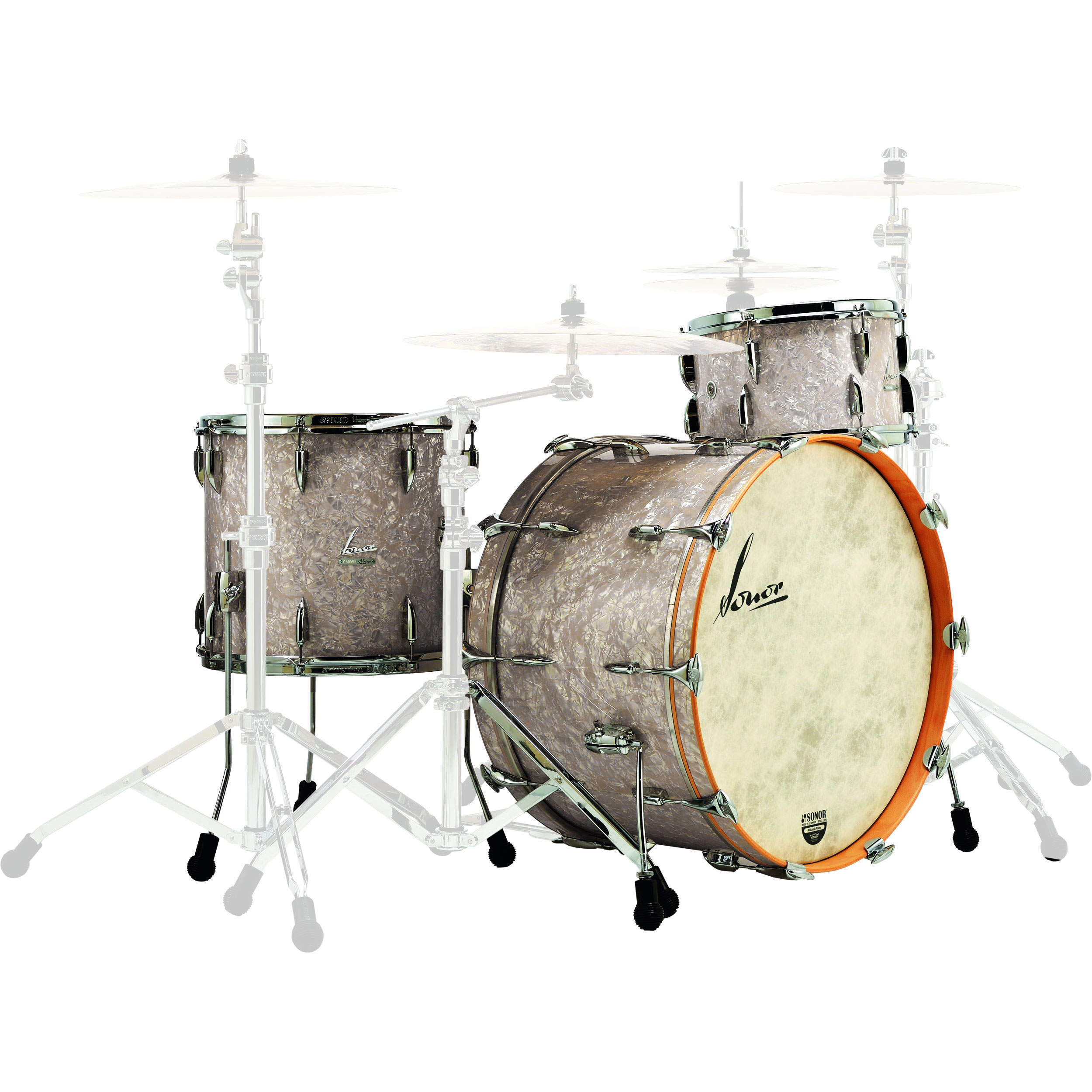 "Sonor Vintage 3-Piece Drum Set Shell Pack (22"" Bass, 13/16"" Toms)"