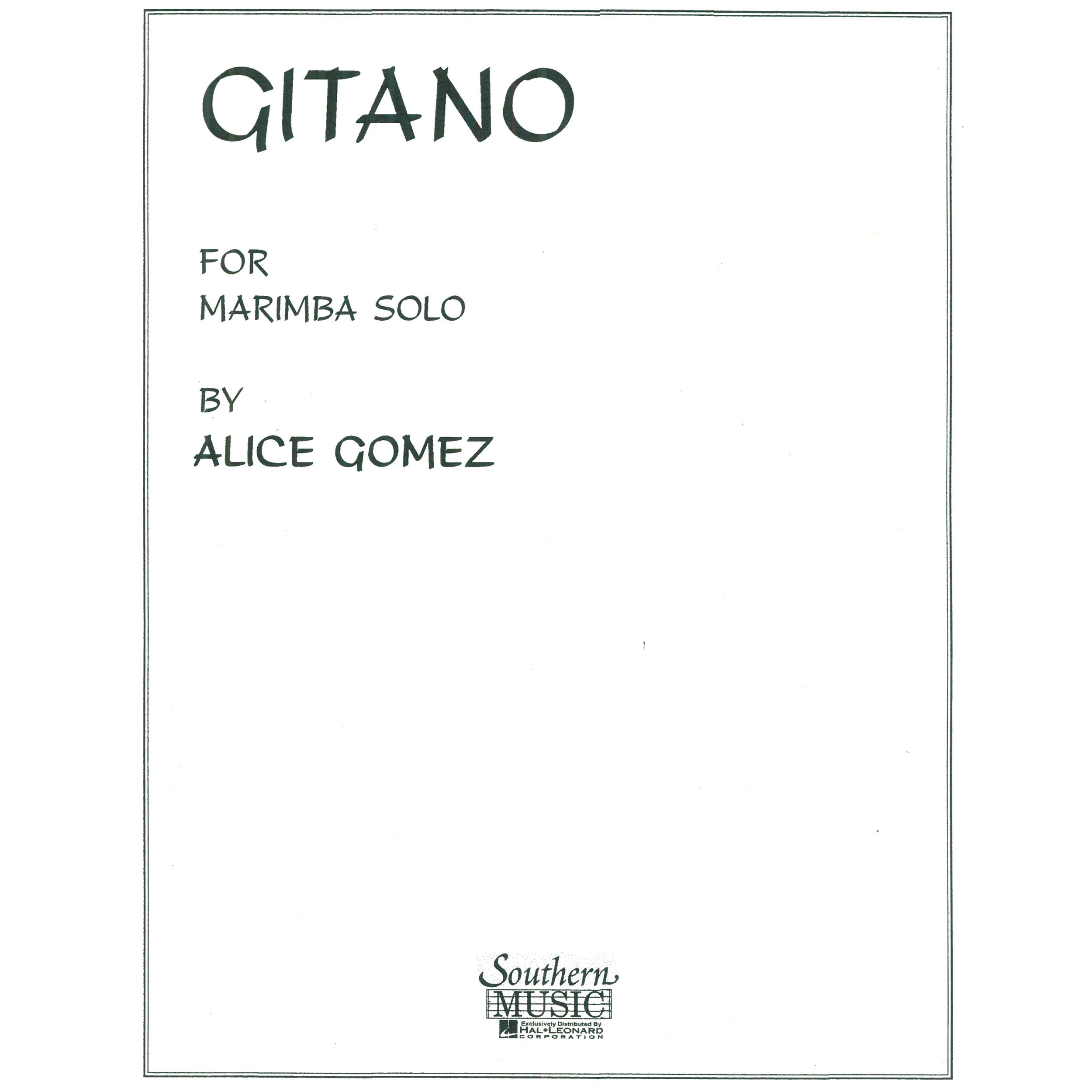 Gitano by Alice Gomez
