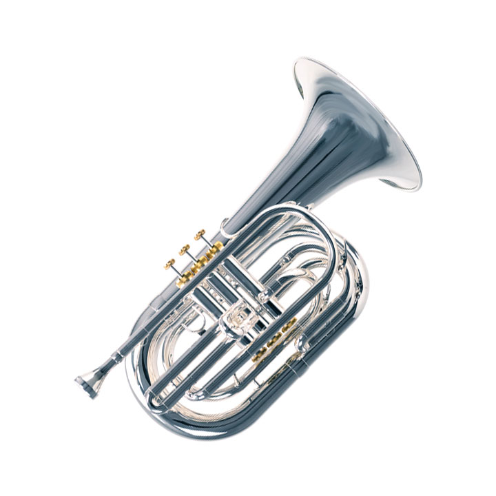 System Blue Professional Marching Series Bb Baritone