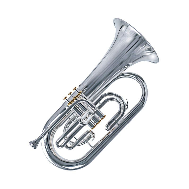 System Blue Professional Marching Series Bb Euphonium