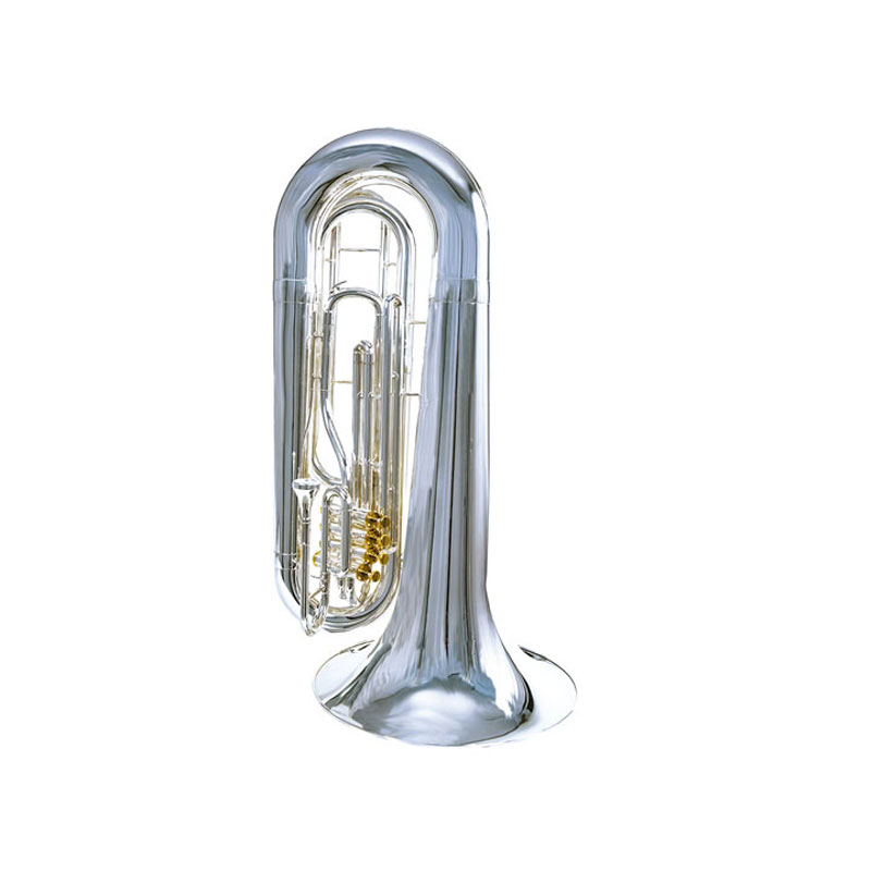 System Blue Professional Marching Series BBb Over the Shoulder Tuba