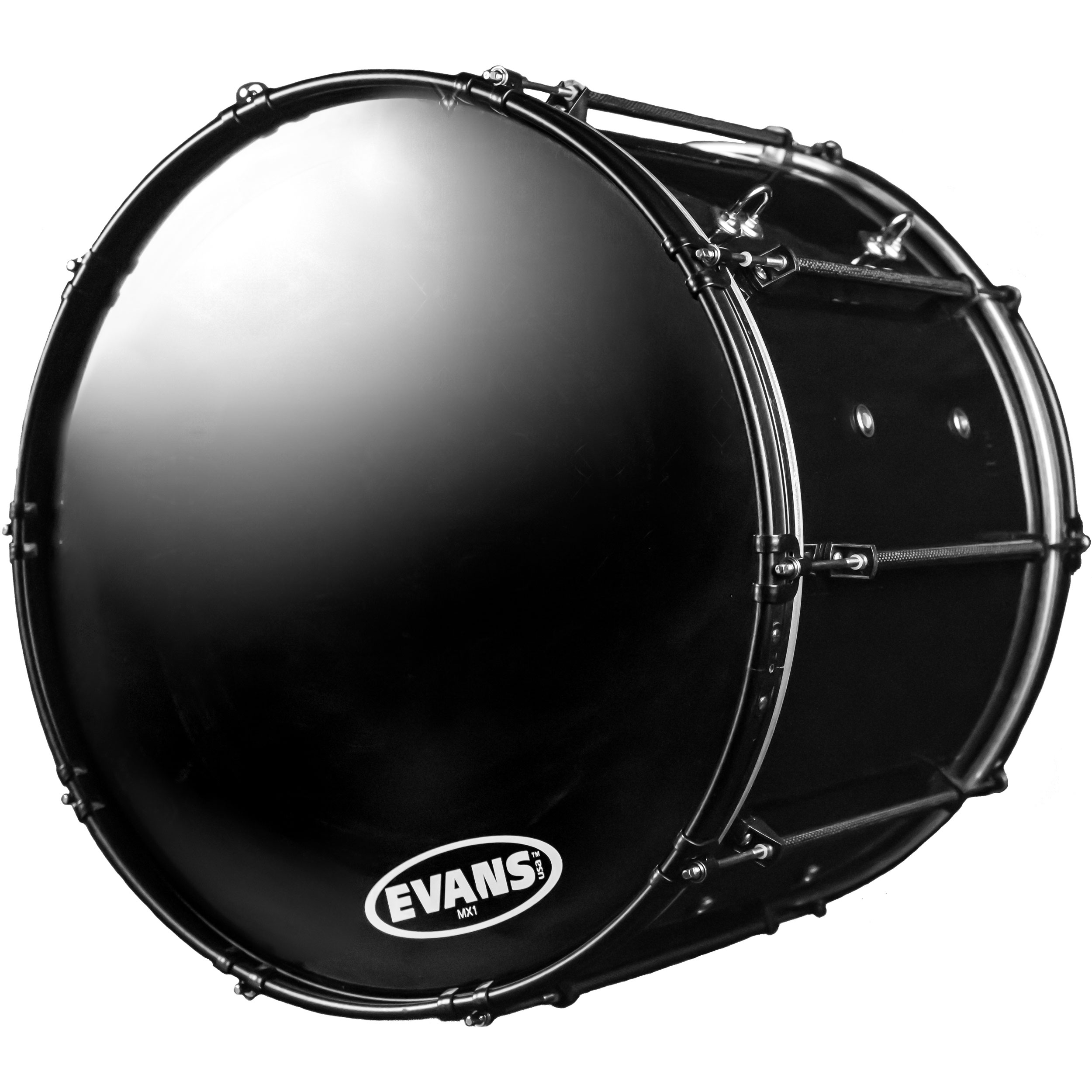 "System Blue 30"" Professional Series Marching Bass Drum"