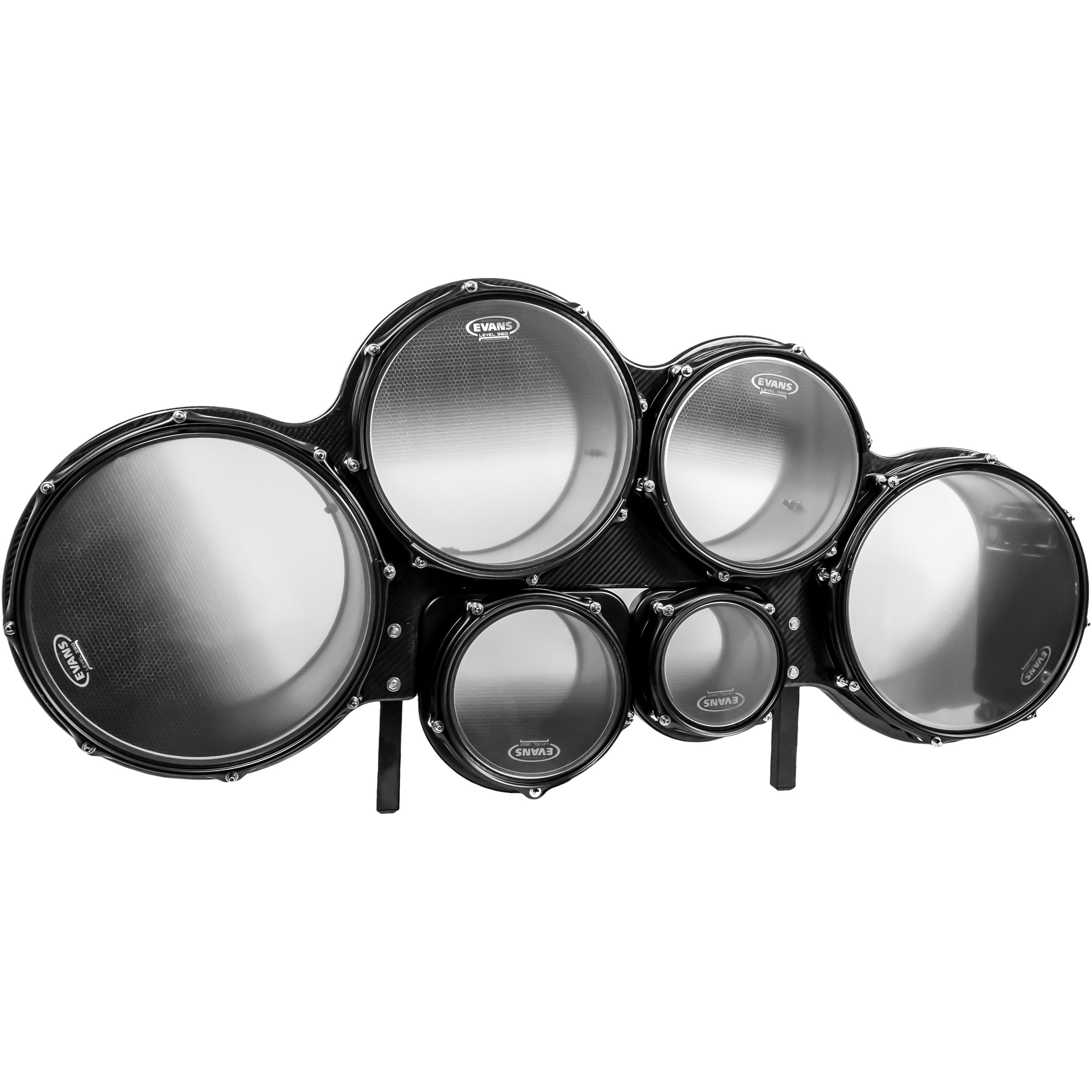 """System Blue 6-8-10-12-13-14"""" Professional Series Marching Tenors"""