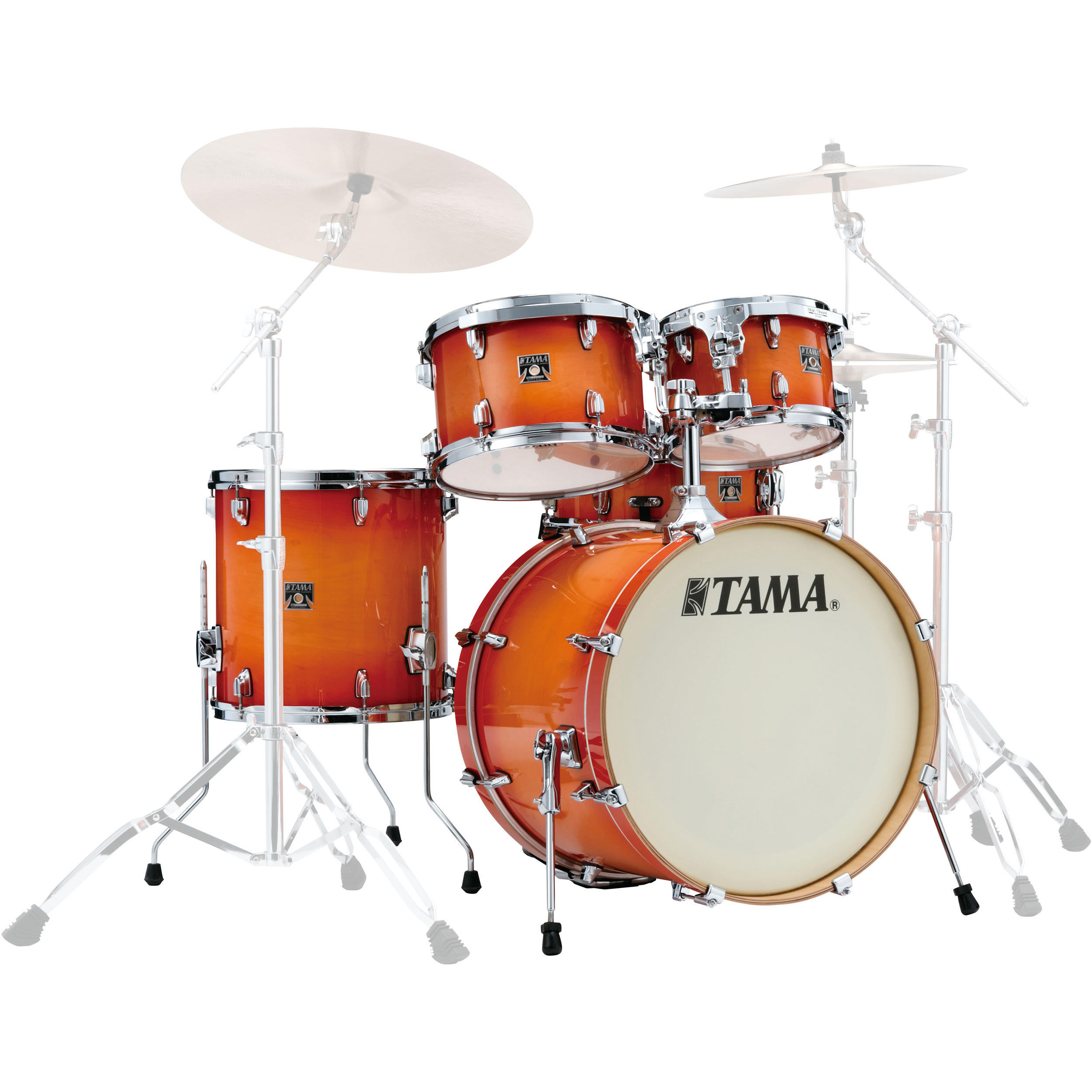 tama superstar classic 5 piece drum set 20 bass 10 12 14 toms 14 snare in lacquer finish. Black Bedroom Furniture Sets. Home Design Ideas