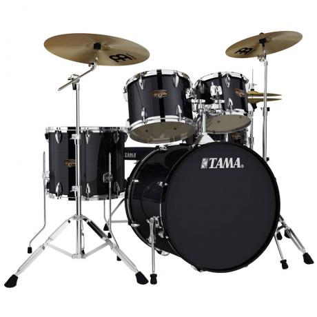 Tama Imperialstar 5-Piece Drum Set with Hardware and Cymbals (22