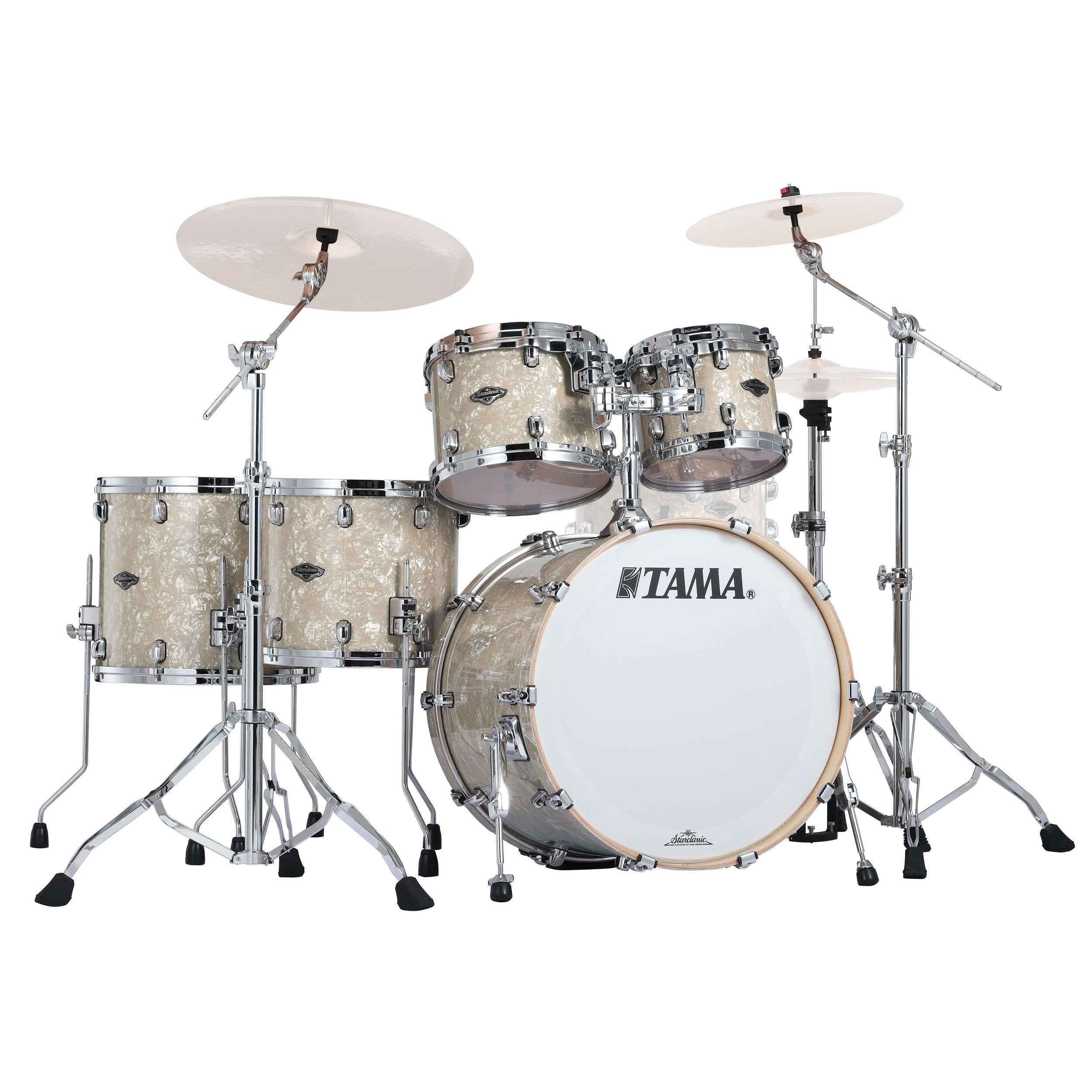 "Tama Starclassic Performer B/B 5-Piece Drum Set Shell Pack (22"" Bass, 10/12/14/16"" Toms) in Wrap Finish"