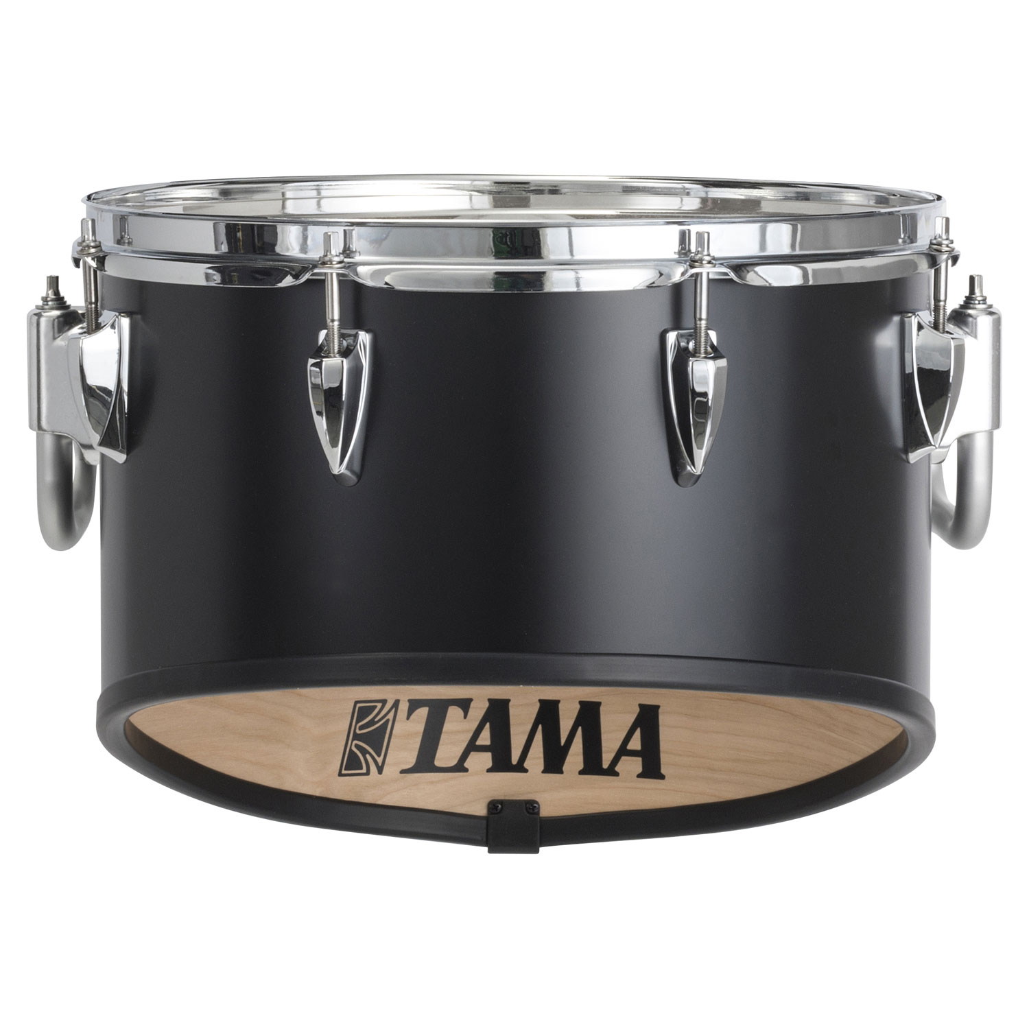 """Tama 14"""" StarLight Individual Marching Tom in Satin Black Lacquer"""