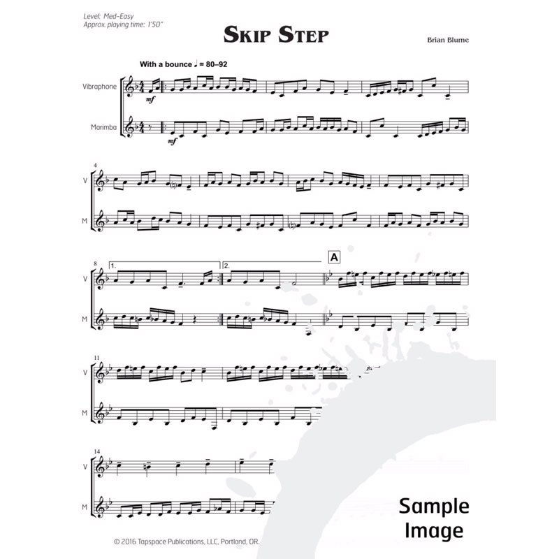 All Music Chords portland sheet music : Songs of Eden by Brian Blume | Keyboard Duet (Tapspace)