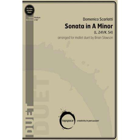 Sonata in A Minor by Domenico Scarlatti arr. Brian Slawson